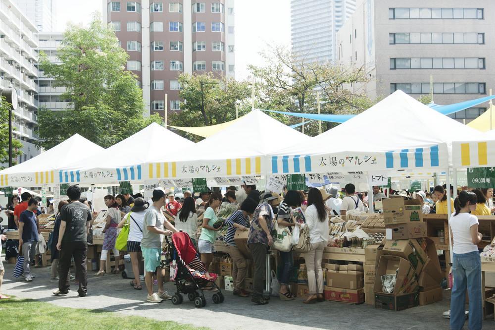 日本/東京/太陽のマルシェ/市集/農產品