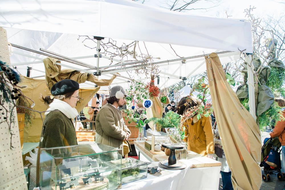 日本/東京/Earth Garden/市集/有機