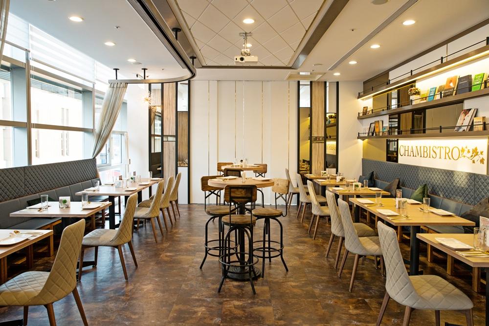 享.香檳海鮮餐酒館/ChamBistro/信義區/新光三越A9/店內裝潢
