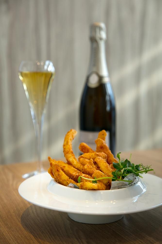享.香檳海鮮餐酒館/ChamBistro/信義區/新光三越A9/櫻花蝦薯條