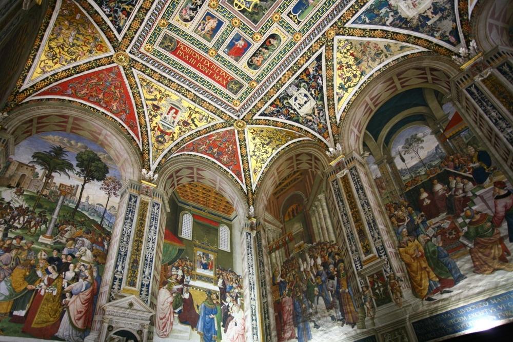義大利/托斯卡尼/Historic Centre of Siena/中世紀小鎮/西恩納歷史中心