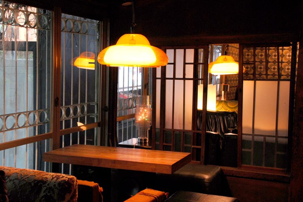 包廂用餐區/bloody sonsy moss/日式木造建築改造/咖啡廳/台中市/台灣