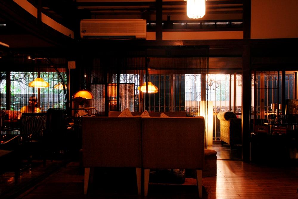 bloody sonsy moss/日式木造建築改造/咖啡廳/台中市/台灣