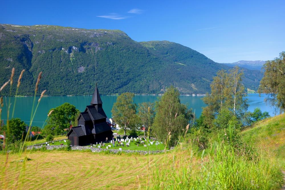 挪威/松恩菲尤達納郡/文化遺產/教堂