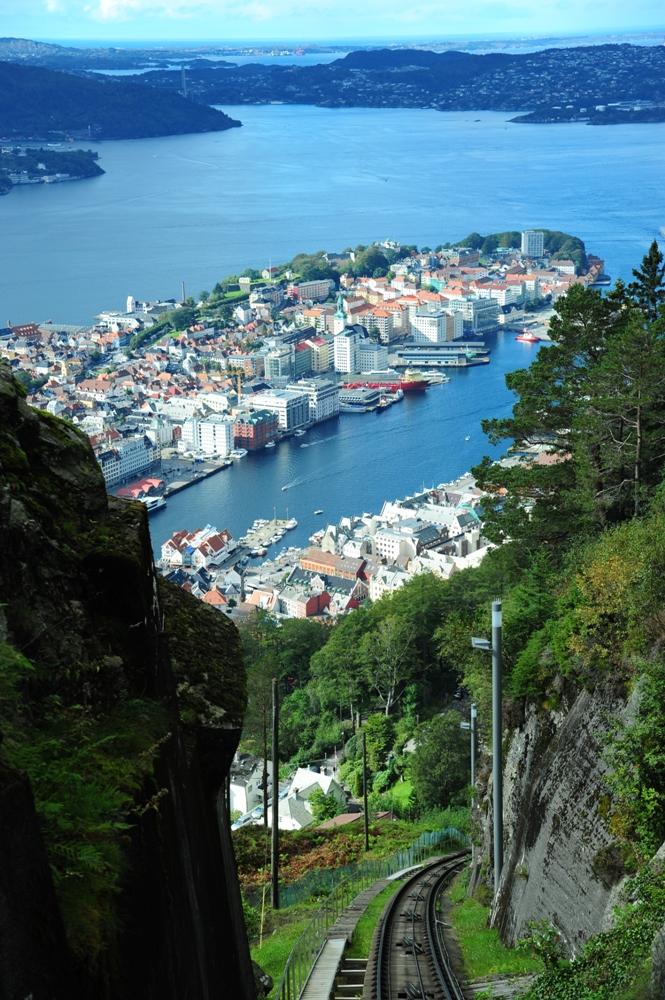 挪威/布里根/文化遺產/漢薩同盟城市/峽灣地形