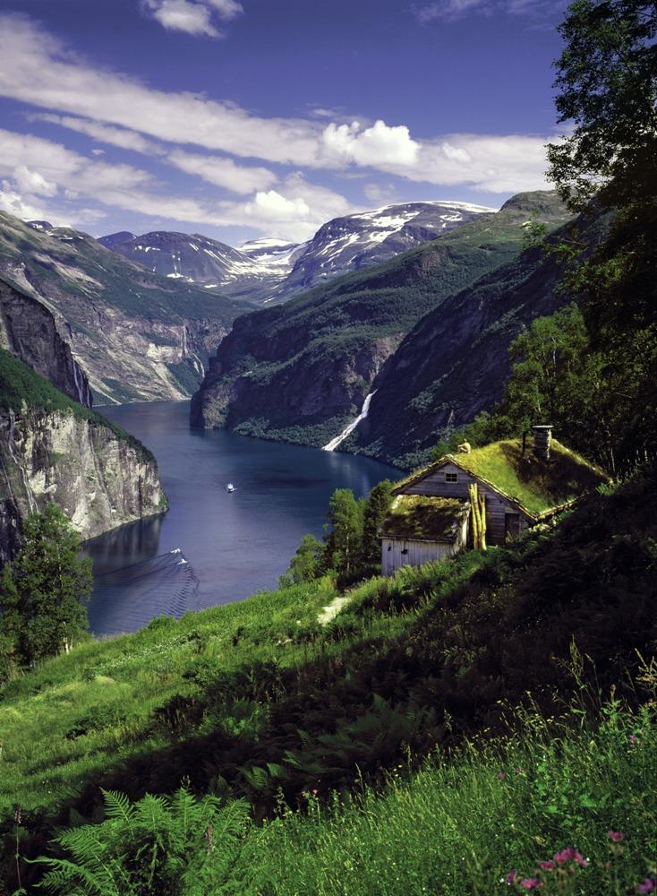 挪威/納柔依峽灣/蓋倫格峽灣