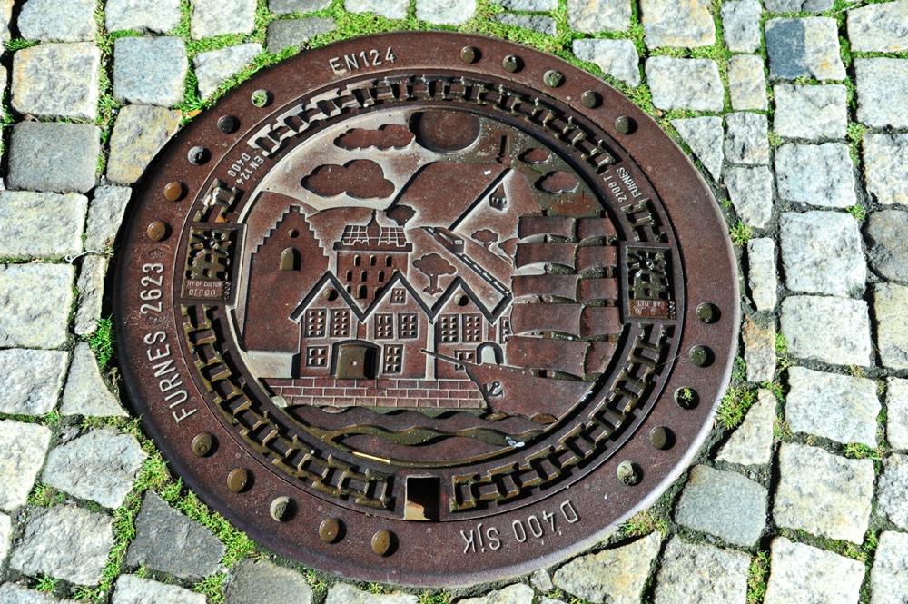 挪威/布里根/文化遺產/漢薩同盟城市/港埠意象