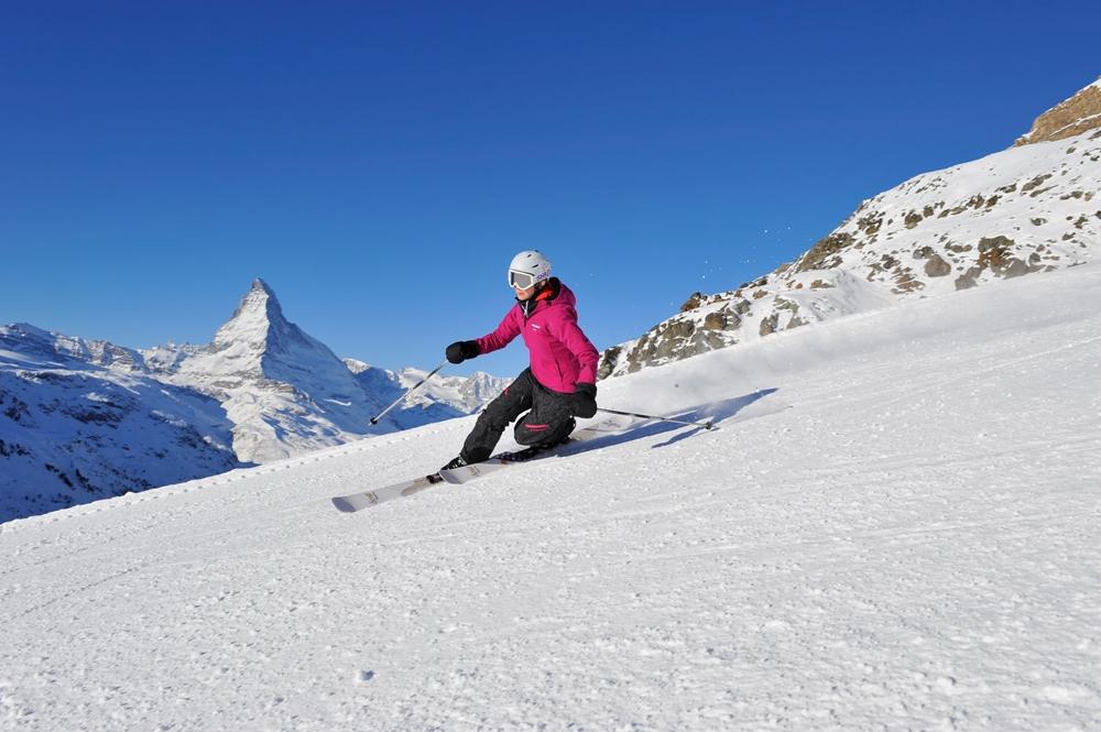 滑雪/策馬特/馬特洪峰山腳/瑞士