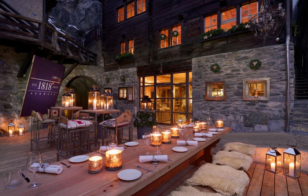 老屋改建/1818 Eat & Drink/策馬特/瑞士