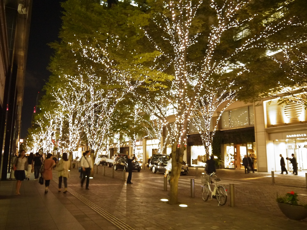 點燈活動/冬季限定/東京/日本