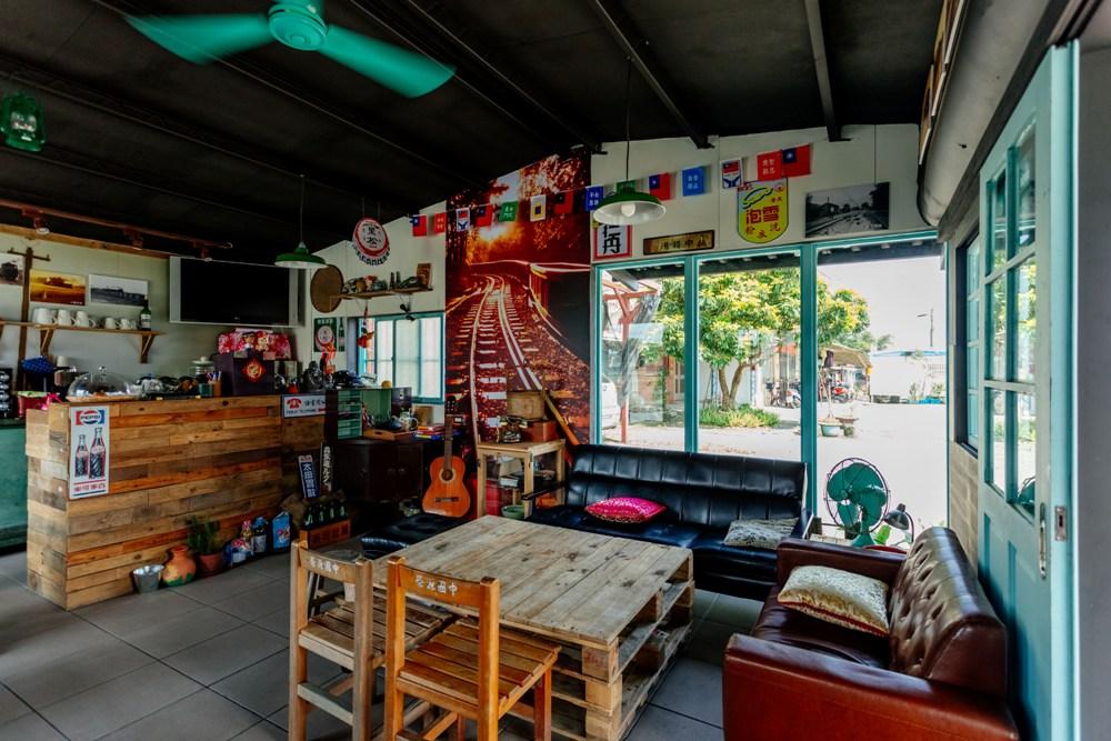懷舊咖啡館/二萬五車站/宜蘭