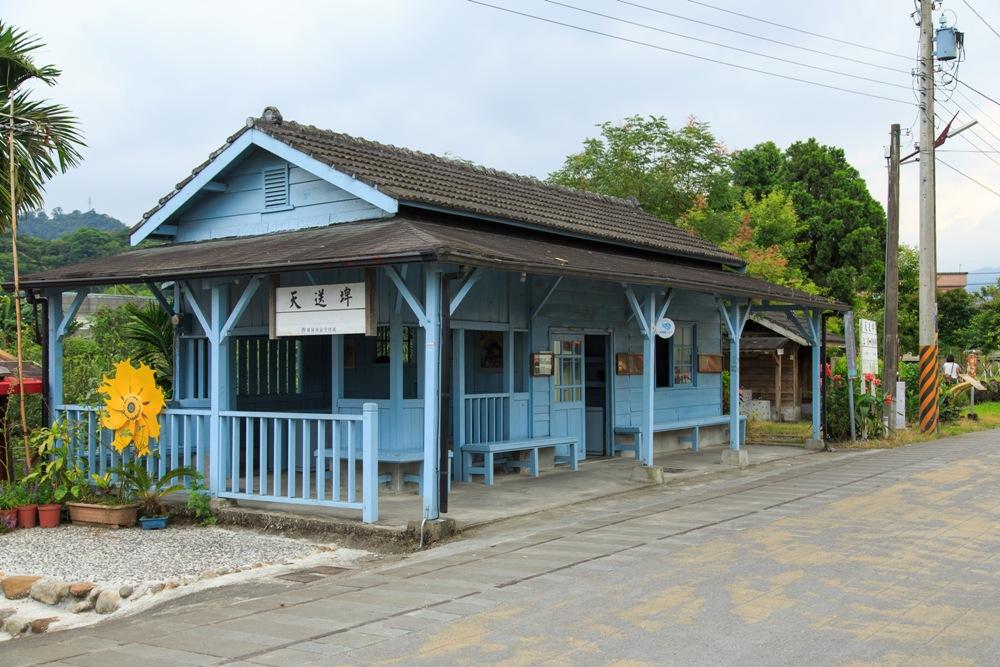 木造車站/森林鐵路/天送埤車站/宜蘭