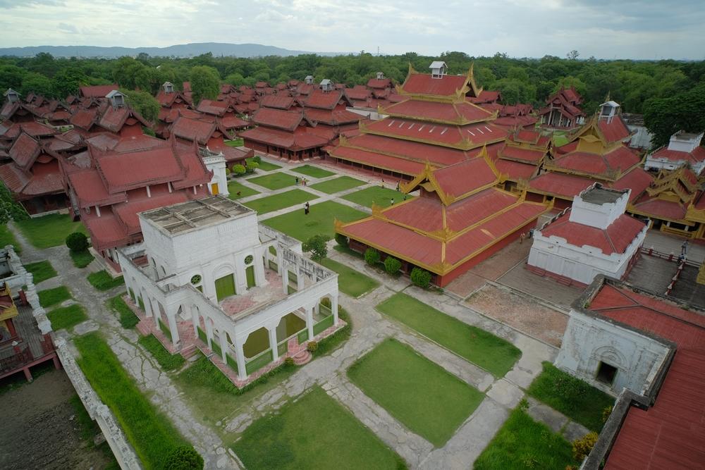 曼德勒皇宮/Myanansankyaw The Royal Palace/曼德勒山/曼德勒/緬甸