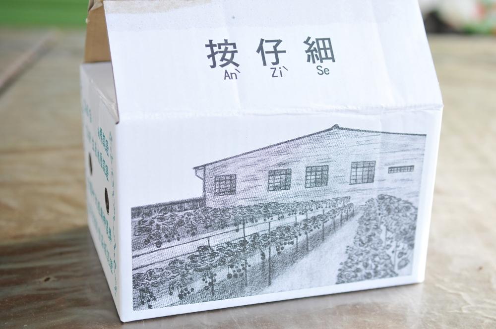 創意包裝紙盒/山頂果園農場/大湖/苗栗/臺灣