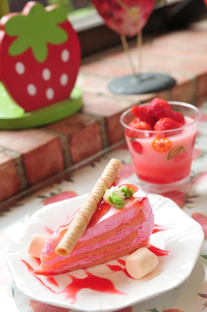草莓蛋糕/草莓文化館/大湖/苗栗/臺灣