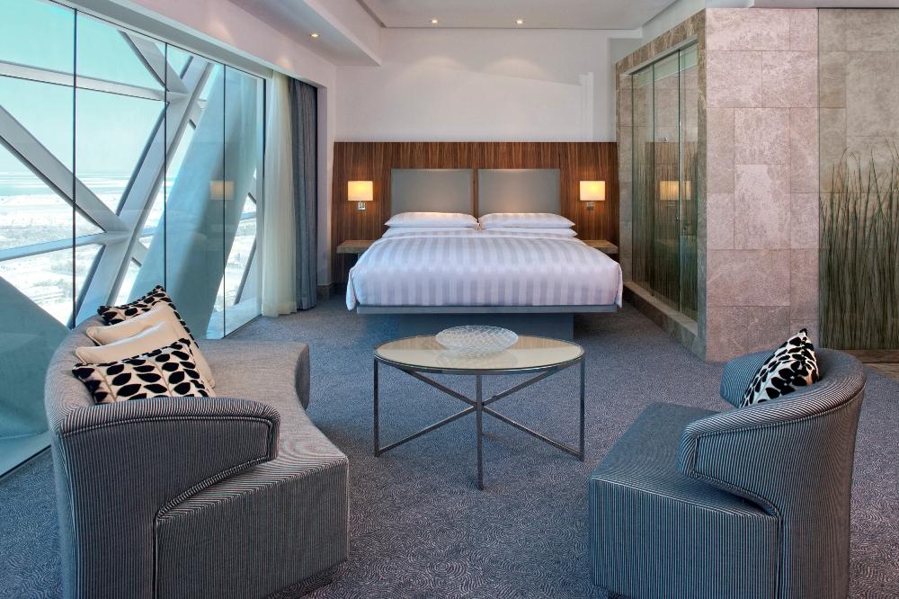 客房/Hyatt Capital Gate Abu Dhabi/阿布達比/阿拉伯聯合大公國