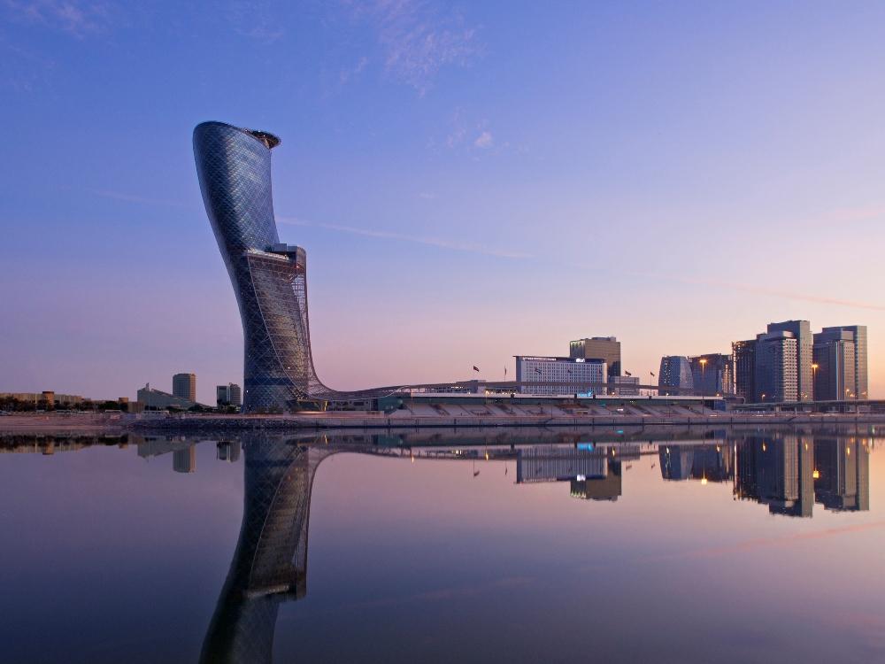 遠景/Hyatt Capital Gate Abu Dhabi/阿布達比/阿拉伯聯合大公國