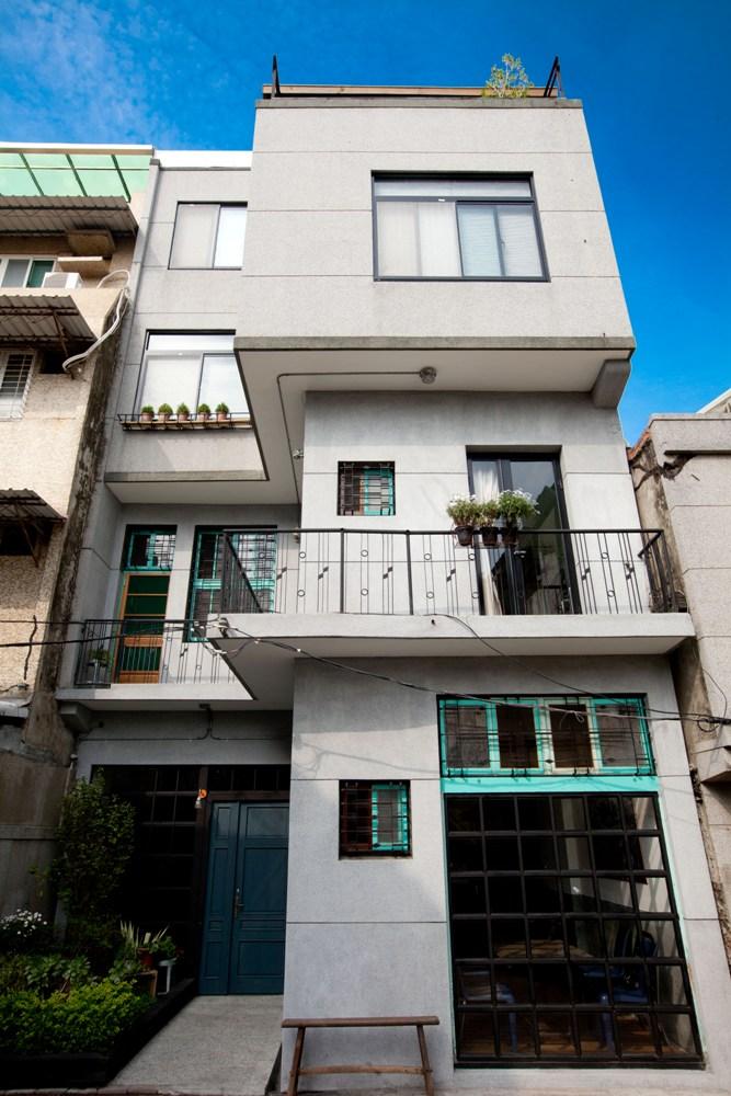 建築外觀/欄杆花紋/有方公寓/台南/台灣