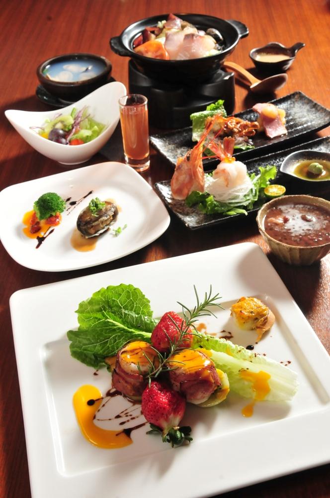 豐富美味餐點/石風度假城堡/苗栗大湖/台灣