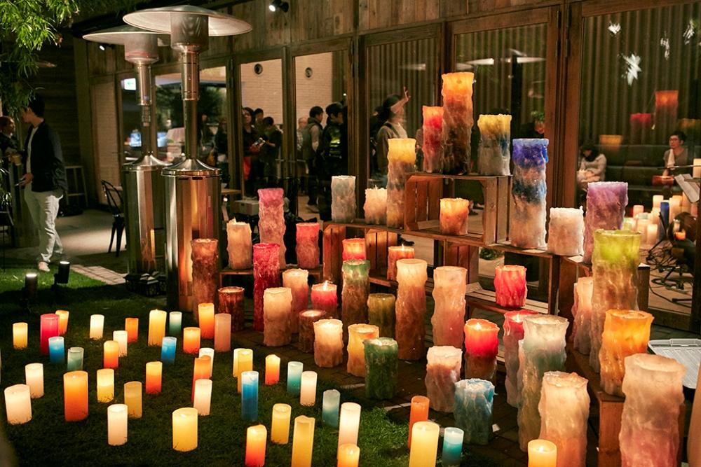 蠟燭庭園/代々木 VILLAGE/東京/日本