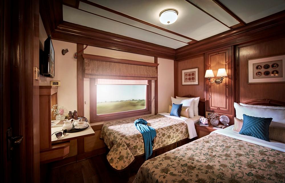 車廂內部/客房/金鷹列車/GW Trains/印度