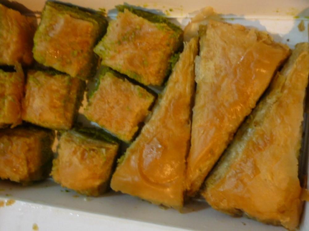 果仁酥皮蜜餅/甜點/土耳其