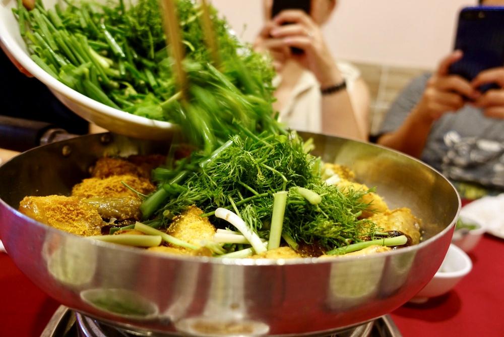 鱧魚鍋/當地料理/河內/越南