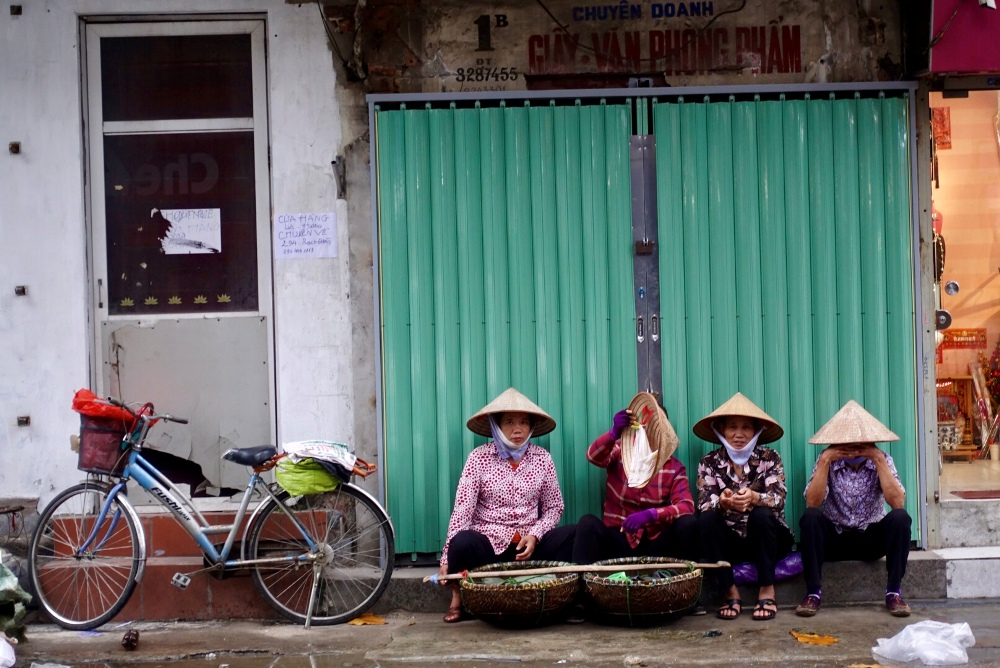 街上的攤販/河內/越南
