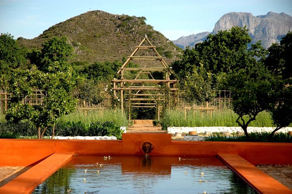 池塘/Babylonstoren/Frandchhoek/南非