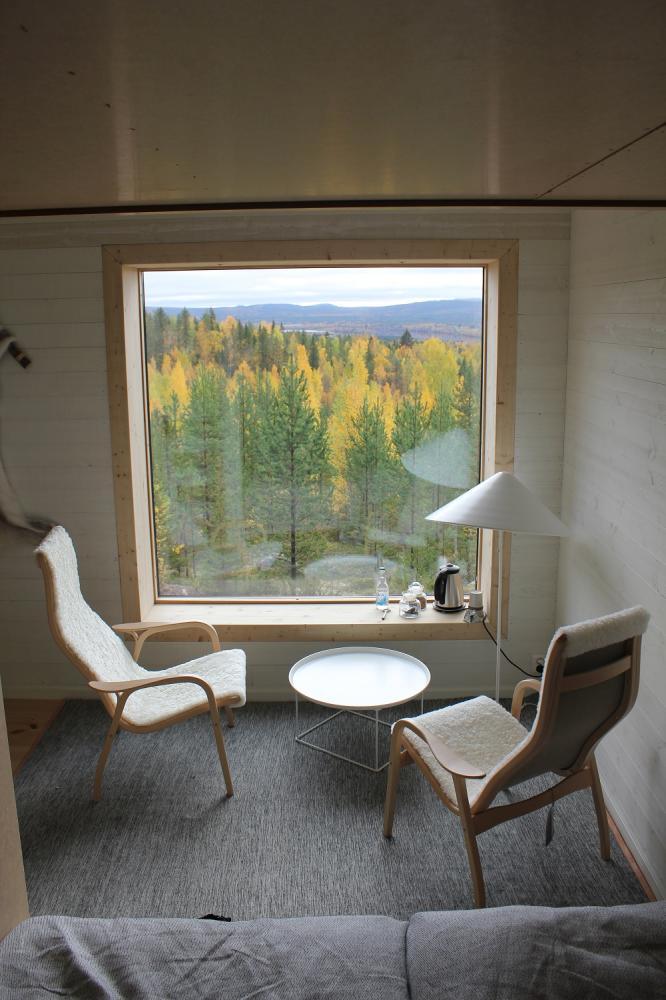 室內/樹屋/Tree Hotel/瑞典