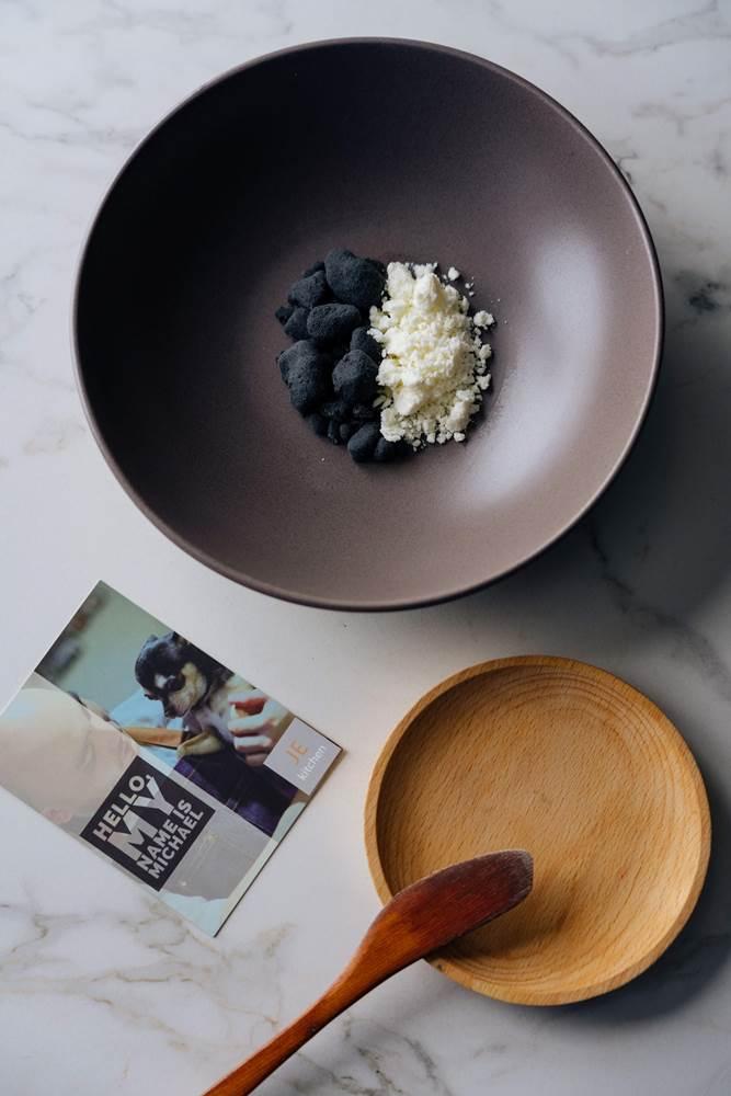 奶油起司 石頭/米其林餐盤推薦/北歐料理/JE kitchen/東區美食/大安區/台北/台灣