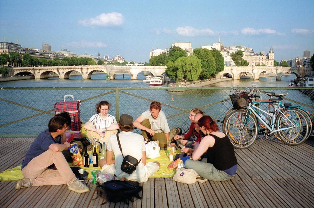 野餐/巴黎/塞納河/法國