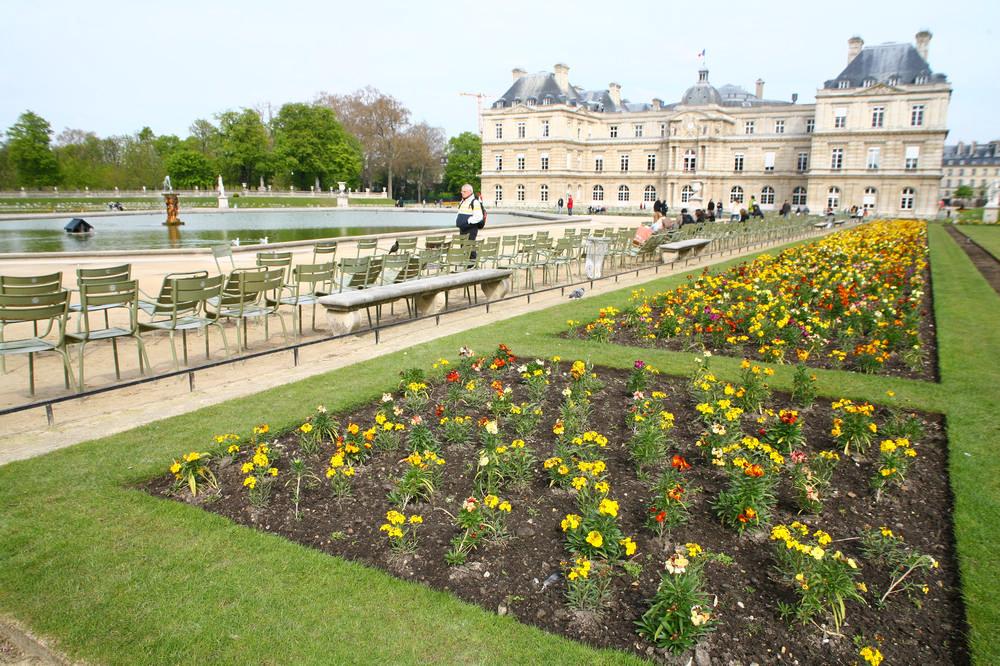 盧森堡花園/巴黎/法國