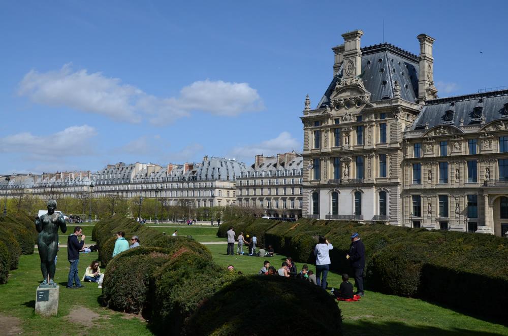 杜樂麗花園/巴黎/法國