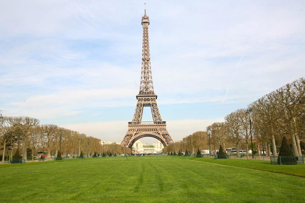 戰神公園/艾菲爾鐵塔/巴黎/法國