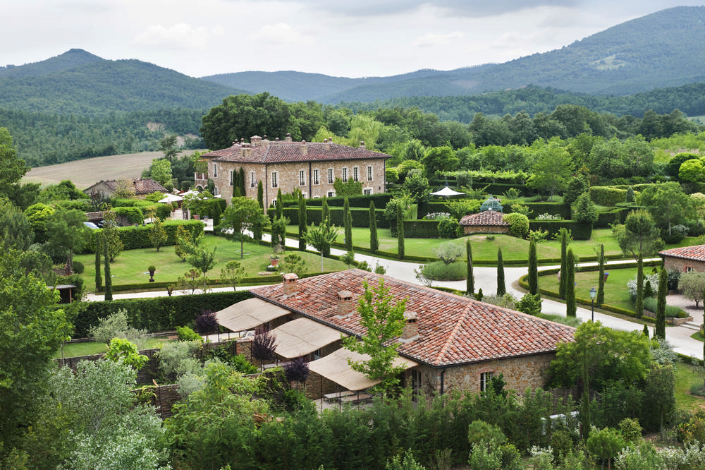 Borgo Santo Pietro/義大利莊園/義大利料理學校/托斯卡尼/義大利