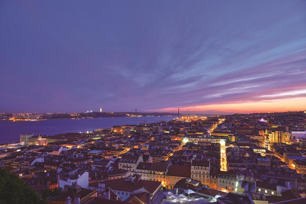 夜景/小鎮/葡萄牙