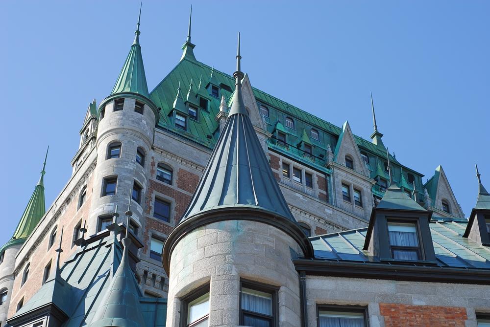 Fairmont le Château Frontenac/芳堤納克伯爵/城堡/加拿大