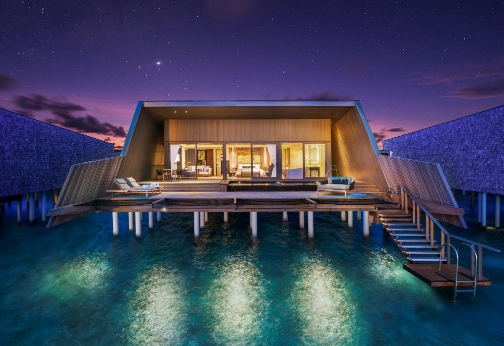 The St. Regis Maldives Vommuli Resort/別墅外觀/馬爾地夫