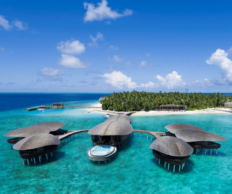 The St. Regis Maldives Vommuli Resort/度假村外觀/馬爾地夫