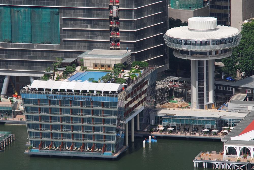 The Fullerton Bay Hotel/外觀/水上玻璃屋篇/新加坡