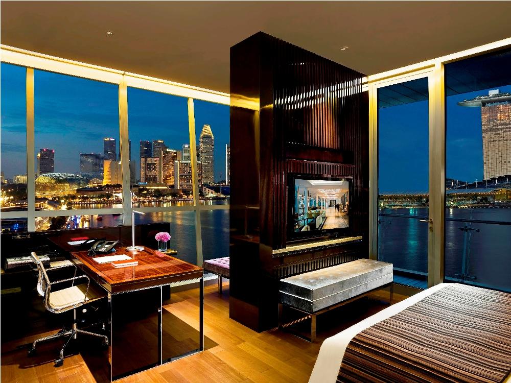 The Fullerton Bay Hotel/客房/內部/水上玻璃屋篇/新加坡