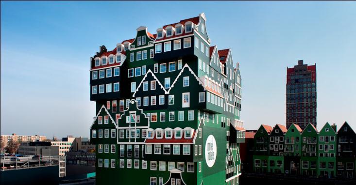 Inntel Hotels Amsterdam Zaandam/外觀/組合屋/阿姆斯特丹/荷蘭