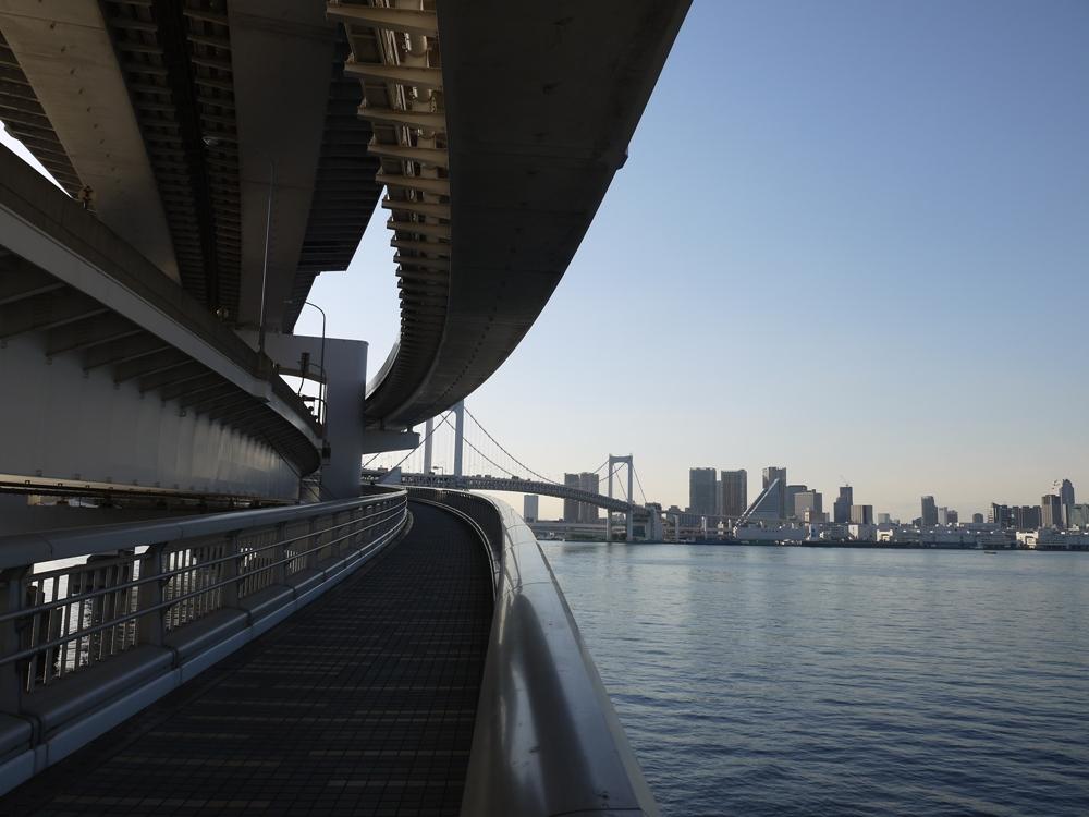 東京灣/彩虹大橋/東京/日本