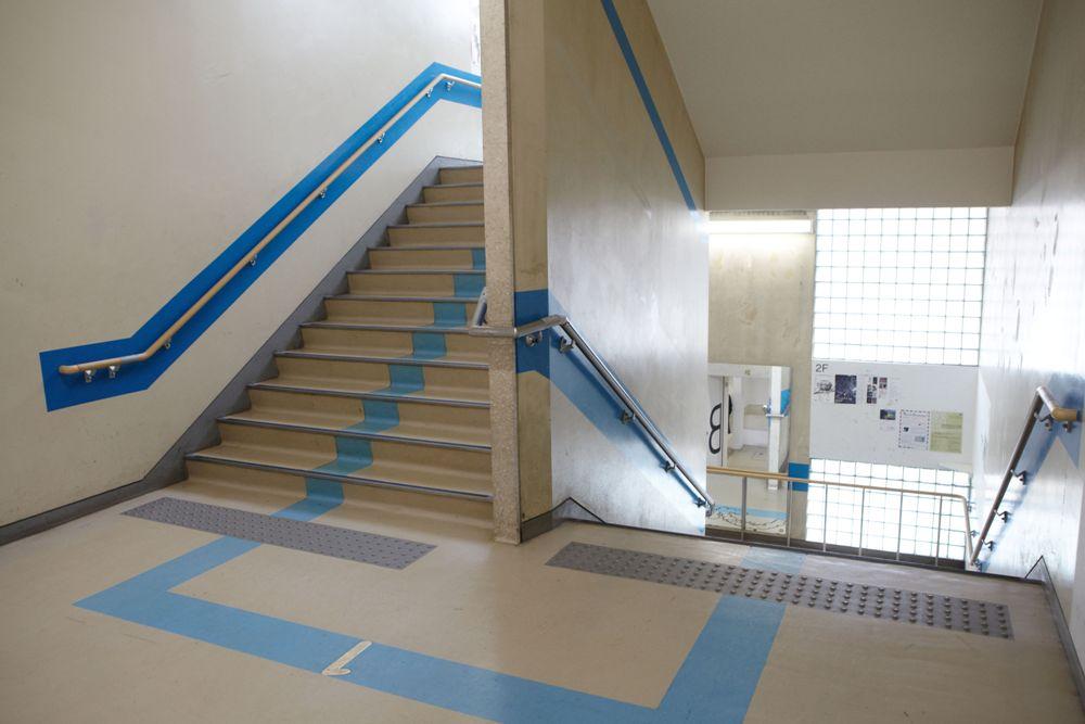 樓梯走廊/3331 Arts Chiyoda/東京/日本