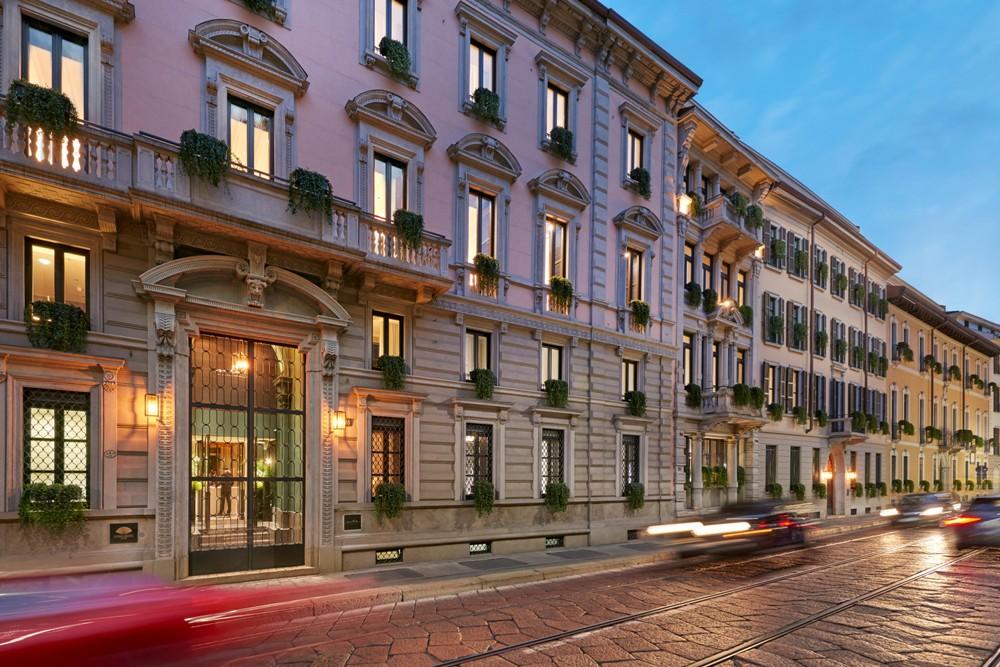 建築外觀/豪華宅邸/Mandarin Oriental, Milan/義大利