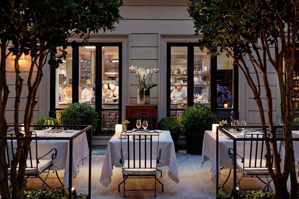 戶外用餐區/Mandarin Oriental, Milan/義大利