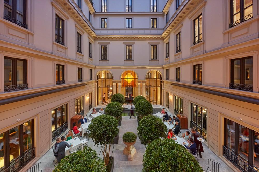 中庭花園/Mandarin Oriental, Milan/義大利