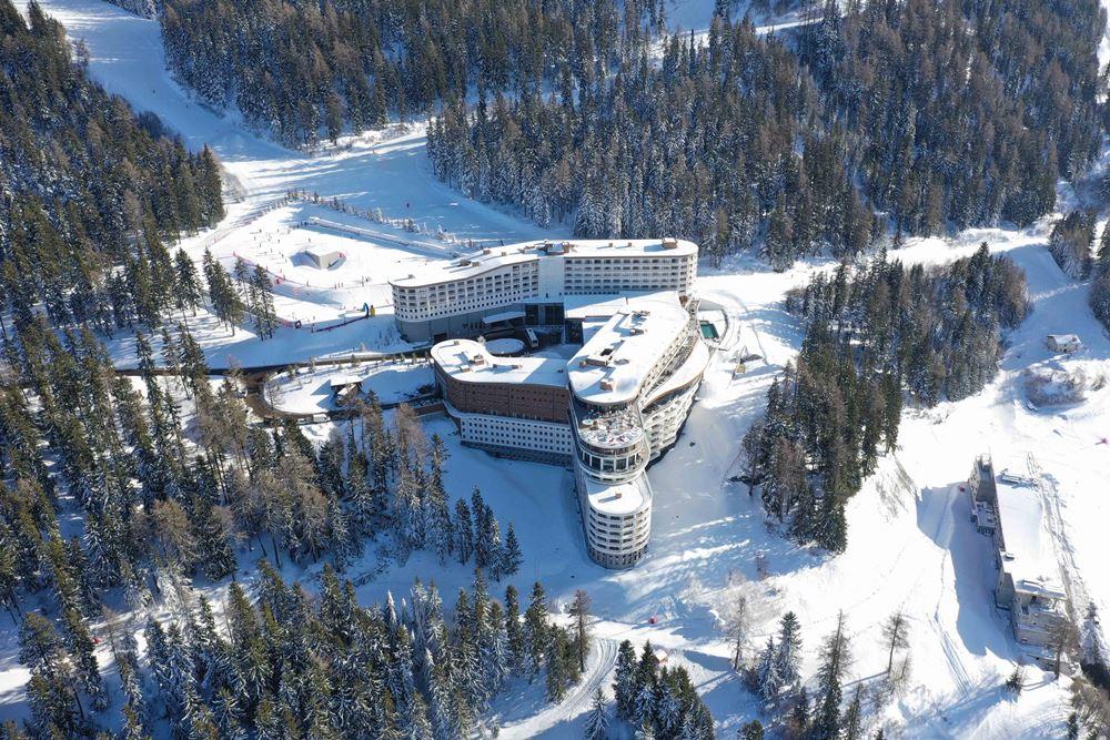 Club Med Les Arcs Panorama/萊薩爾克滑雪度假村/滑雪度假村/阿爾卑斯山/法