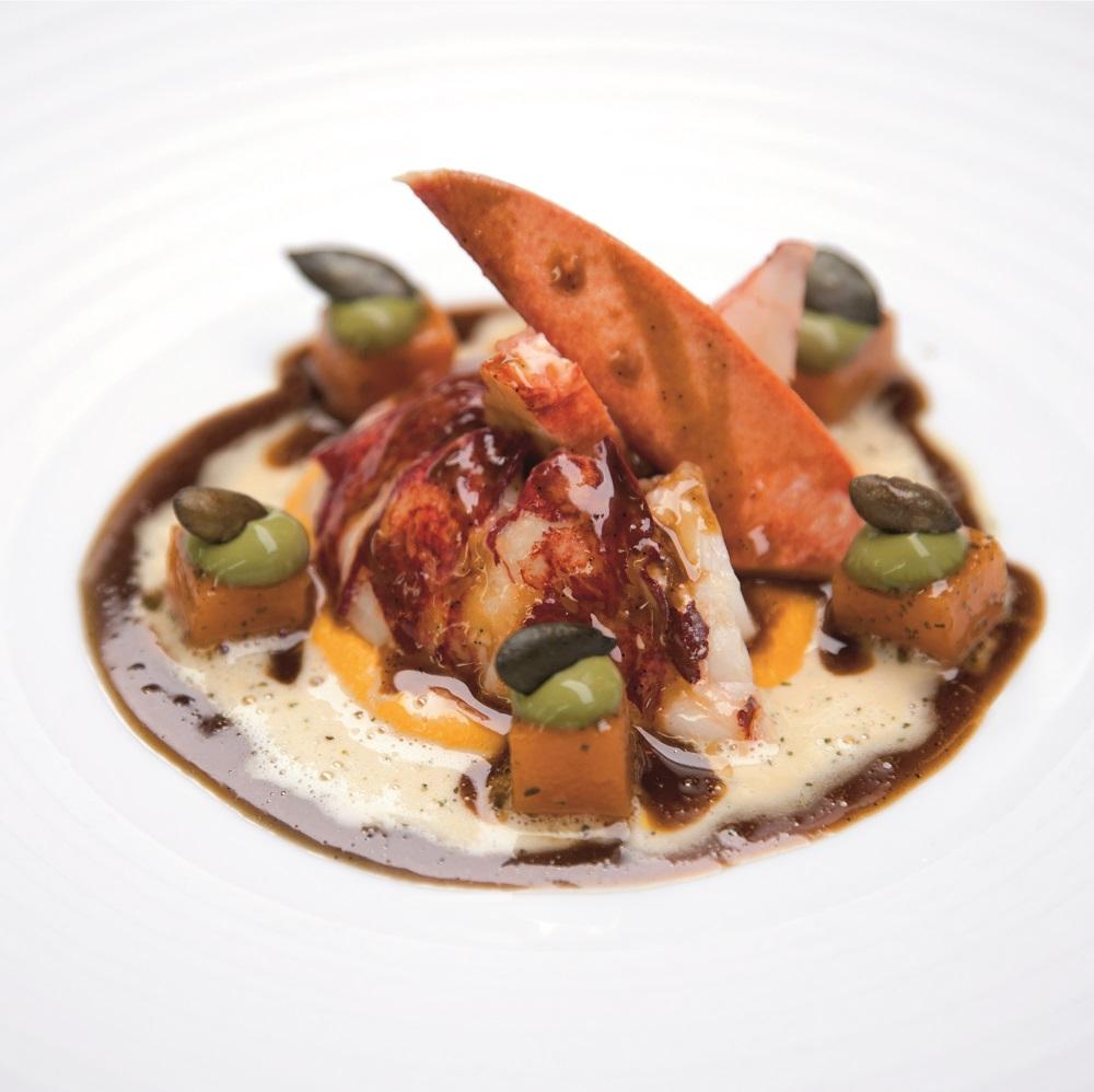 小螯蝦/Bareiss/米其林餐廳/黑森林/德國
